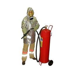 Плащ металлизированный комплекта защитной экипировки пожарного-добровольца «ШАНС»-Д