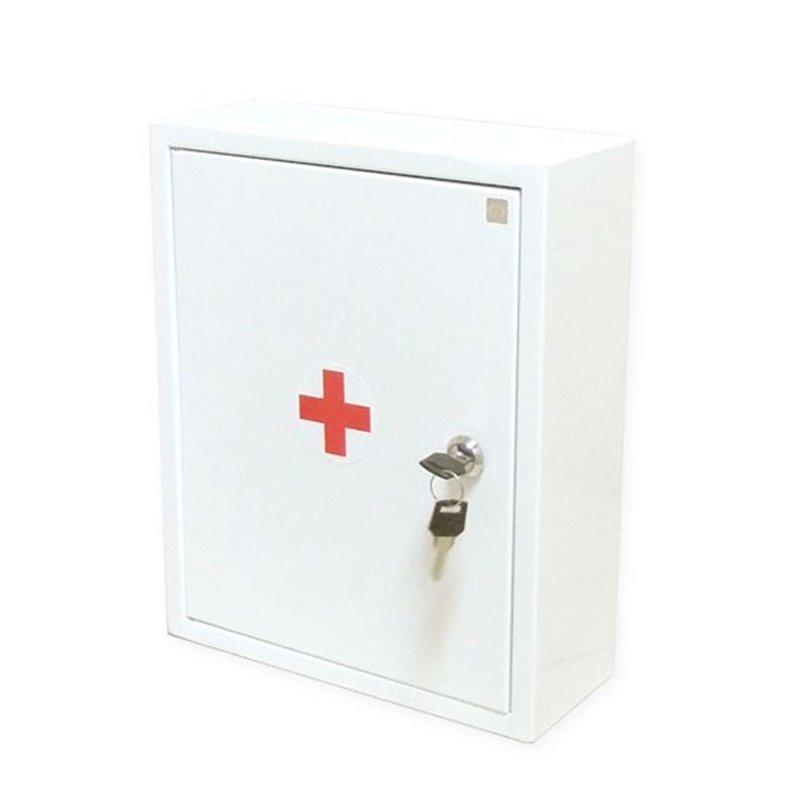 Для оказания первой помощи работникам - металлический шкаф 2